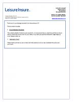 £5 MILLION PUBLIC LIABILITY INSURANCE 1617