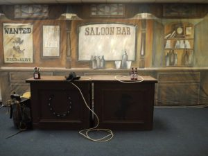 SALOON BACKDROP
